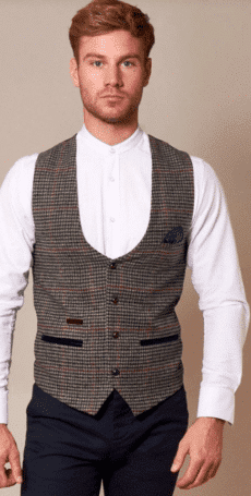 Gilet-navy-grey-retro