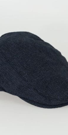 Flat Cap Navy Blue